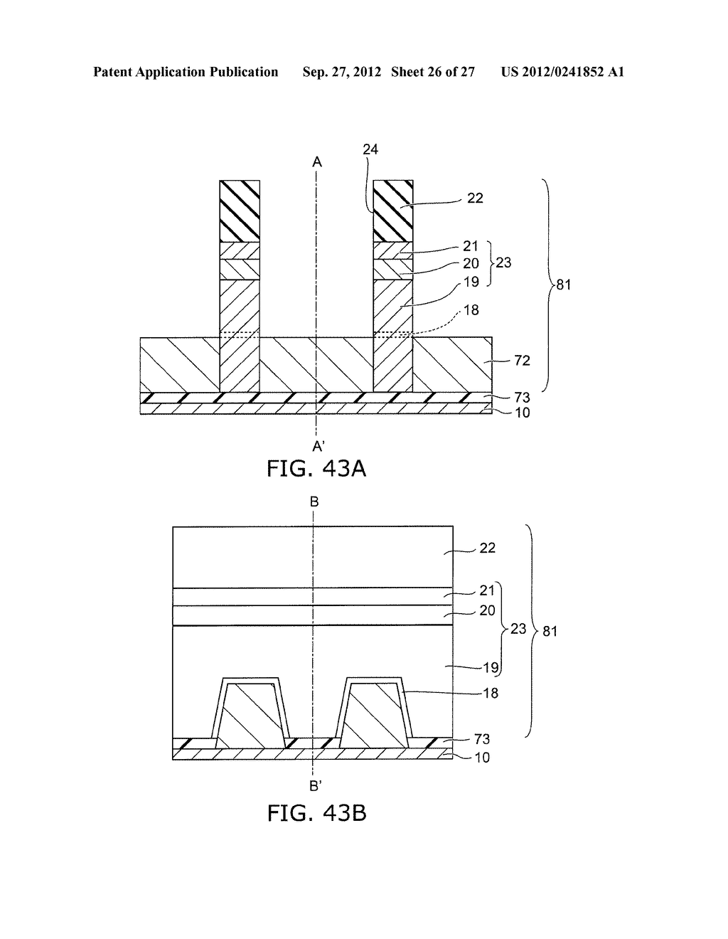 SEMICONDUCTOR DEVICE AND METHOD FOR MANUFACTURING SAME - diagram, schematic, and image 27