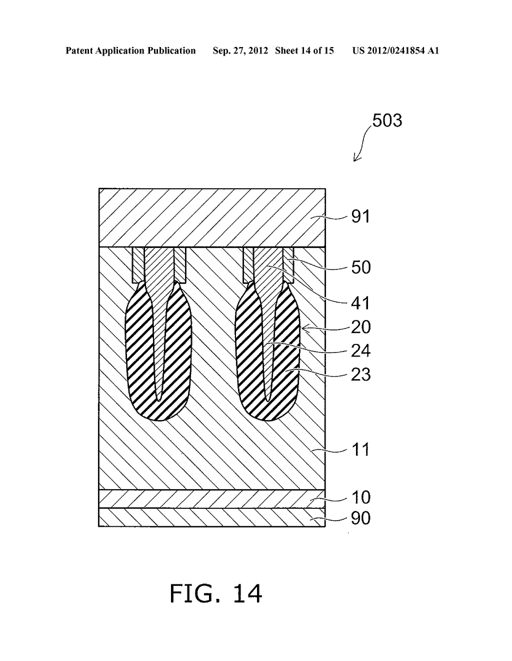 SEMICONDUCTOR DEVICE AND METHOD FOR MANUFACTURING SAME - diagram, schematic, and image 15