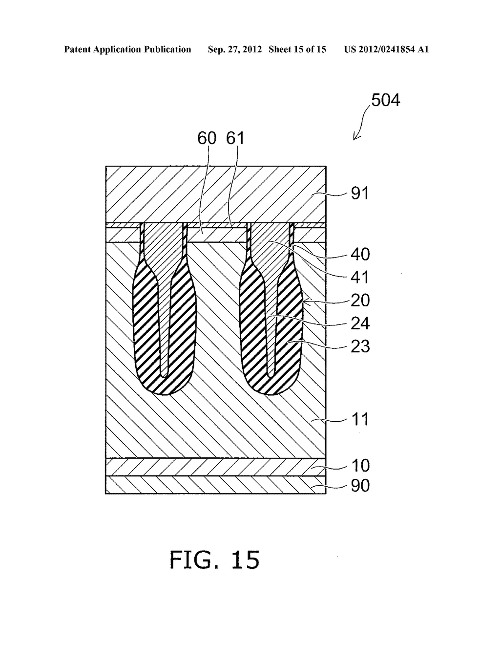 SEMICONDUCTOR DEVICE AND METHOD FOR MANUFACTURING SAME - diagram, schematic, and image 16