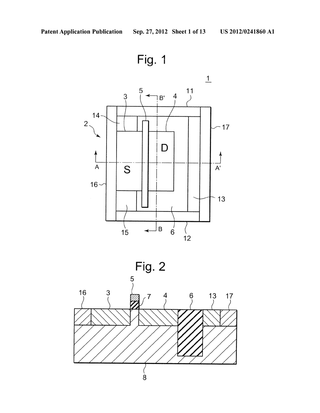 SEMICONDUCTOR INTEGRATED CIRCUIT INCLUDING TRANSISTOR  HAVING DIFFUSION     LAYER FORMED AT OUTSIDE OF ELEMENT ISOLATION REGION FOR PREVENTING SOFT     ERROR - diagram, schematic, and image 02