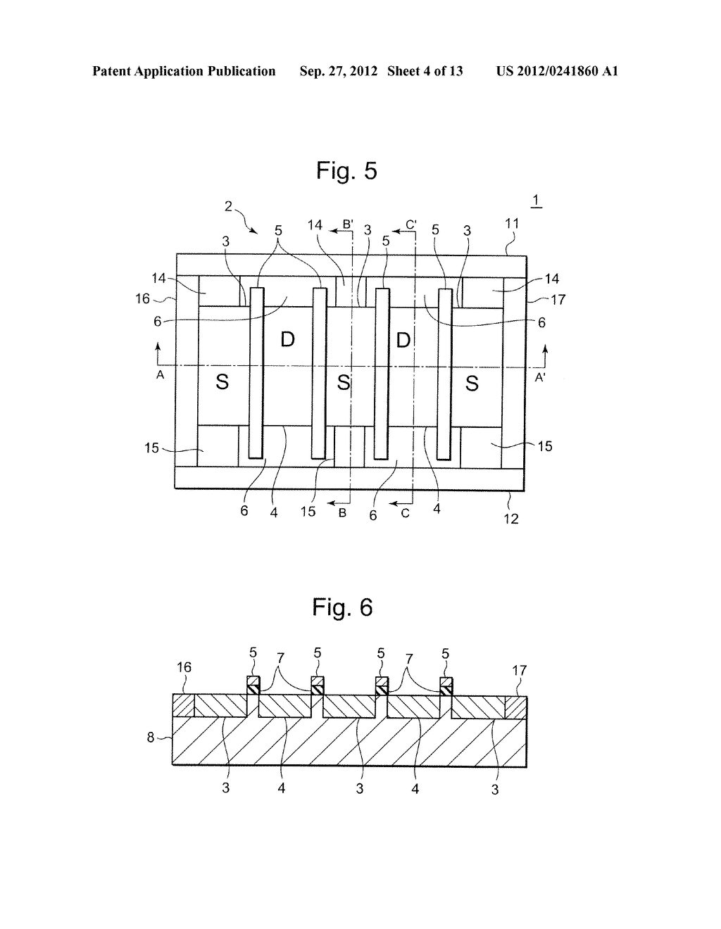 SEMICONDUCTOR INTEGRATED CIRCUIT INCLUDING TRANSISTOR  HAVING DIFFUSION     LAYER FORMED AT OUTSIDE OF ELEMENT ISOLATION REGION FOR PREVENTING SOFT     ERROR - diagram, schematic, and image 05