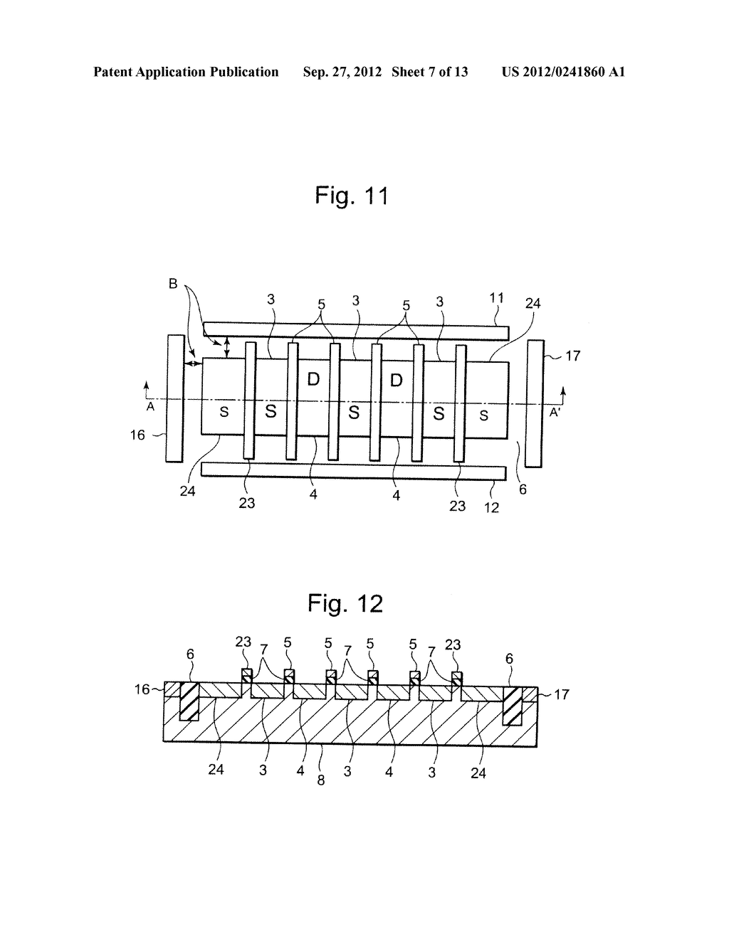 SEMICONDUCTOR INTEGRATED CIRCUIT INCLUDING TRANSISTOR  HAVING DIFFUSION     LAYER FORMED AT OUTSIDE OF ELEMENT ISOLATION REGION FOR PREVENTING SOFT     ERROR - diagram, schematic, and image 08