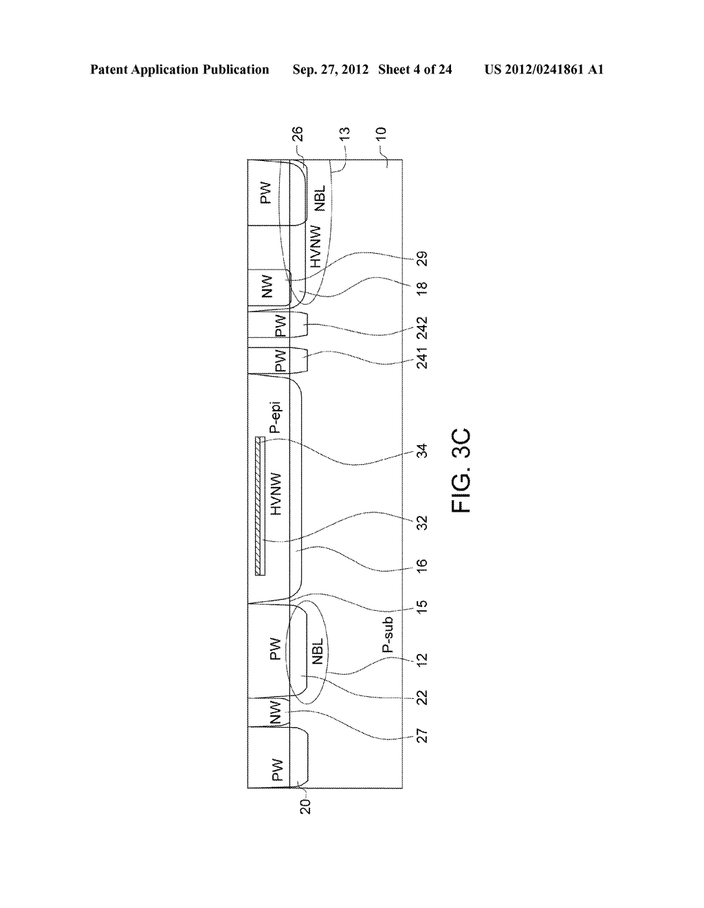 Ultra-High Voltage N-Type-Metal-Oxide-Semiconductor (UHV NMOS) Device and     Methods of Manufacturing the same - diagram, schematic, and image 05
