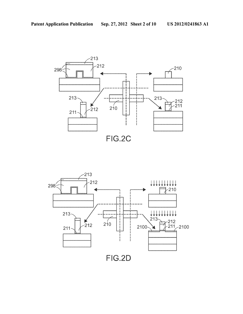 FIN FIELD-EFFECT TRANSISTOR STRUCTURE AND MANUFACTURING PROCESS THEREOF - diagram, schematic, and image 03
