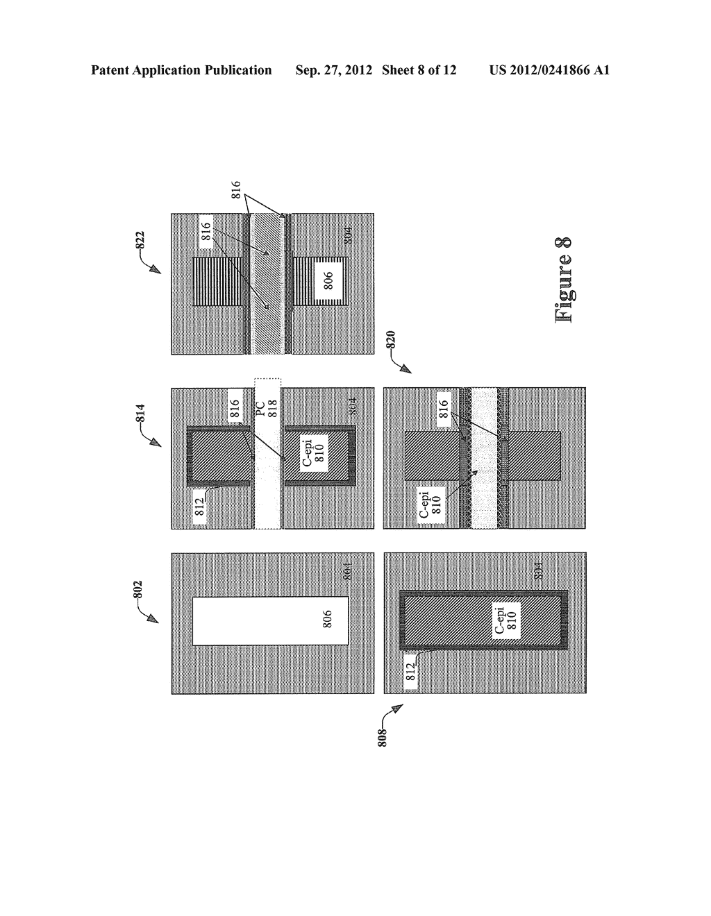TRANSISTOR STRUCTURE AND MANUFACTURING METHOD WHICH HAS CHANNEL EPITAXIAL     EQUIPPED WITH LATERAL EPITAXIAL STRUCTURE - diagram, schematic, and image 09