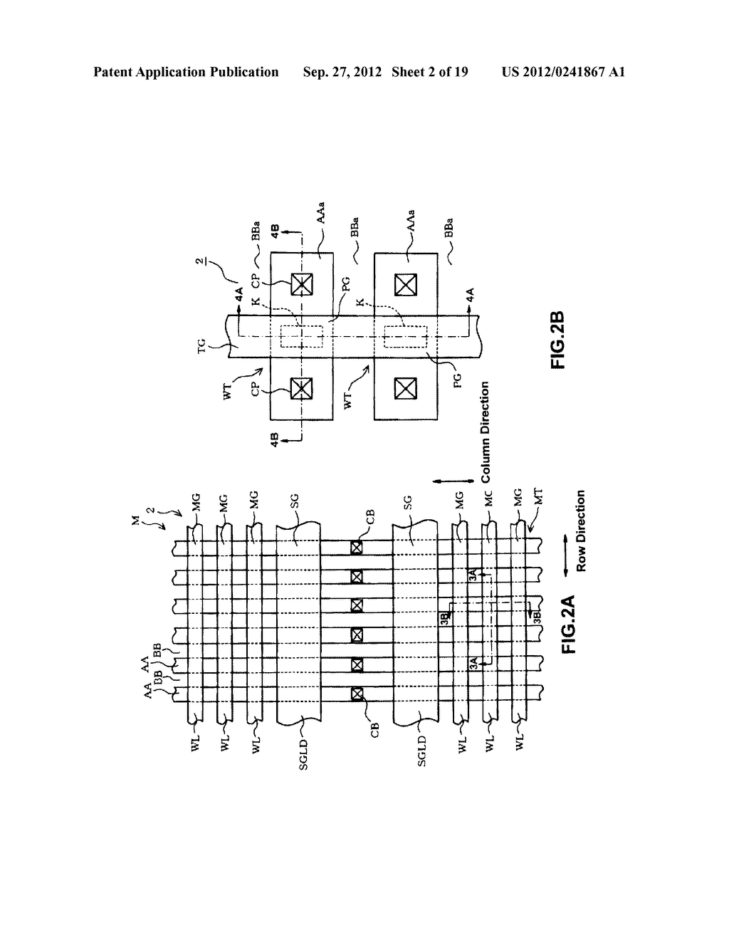 NON-VOLATILE SEMICONDUCTOR MEMORY DEVICE AND A MANUFACTURING METHOD     THEREOF - diagram, schematic, and image 03