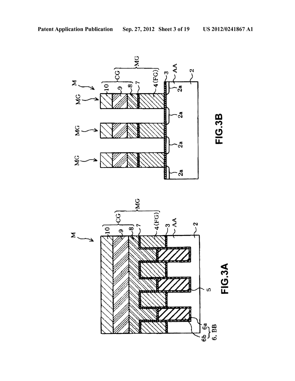 NON-VOLATILE SEMICONDUCTOR MEMORY DEVICE AND A MANUFACTURING METHOD     THEREOF - diagram, schematic, and image 04