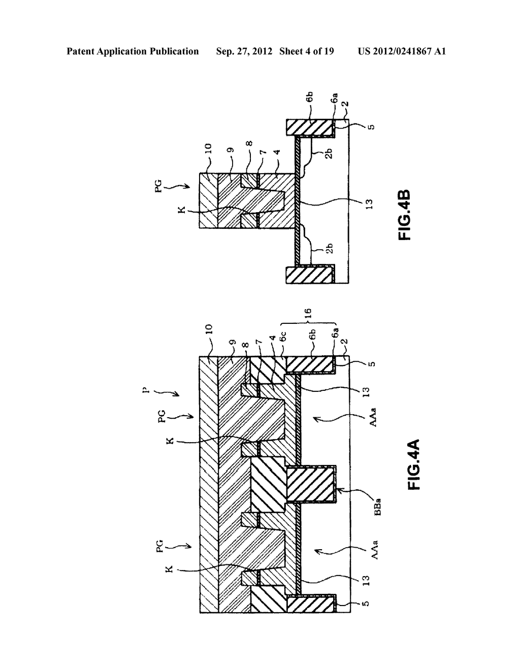 NON-VOLATILE SEMICONDUCTOR MEMORY DEVICE AND A MANUFACTURING METHOD     THEREOF - diagram, schematic, and image 05