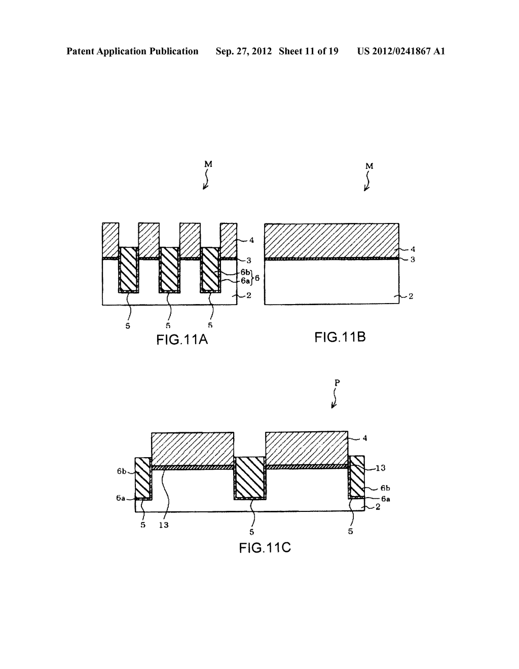 NON-VOLATILE SEMICONDUCTOR MEMORY DEVICE AND A MANUFACTURING METHOD     THEREOF - diagram, schematic, and image 12