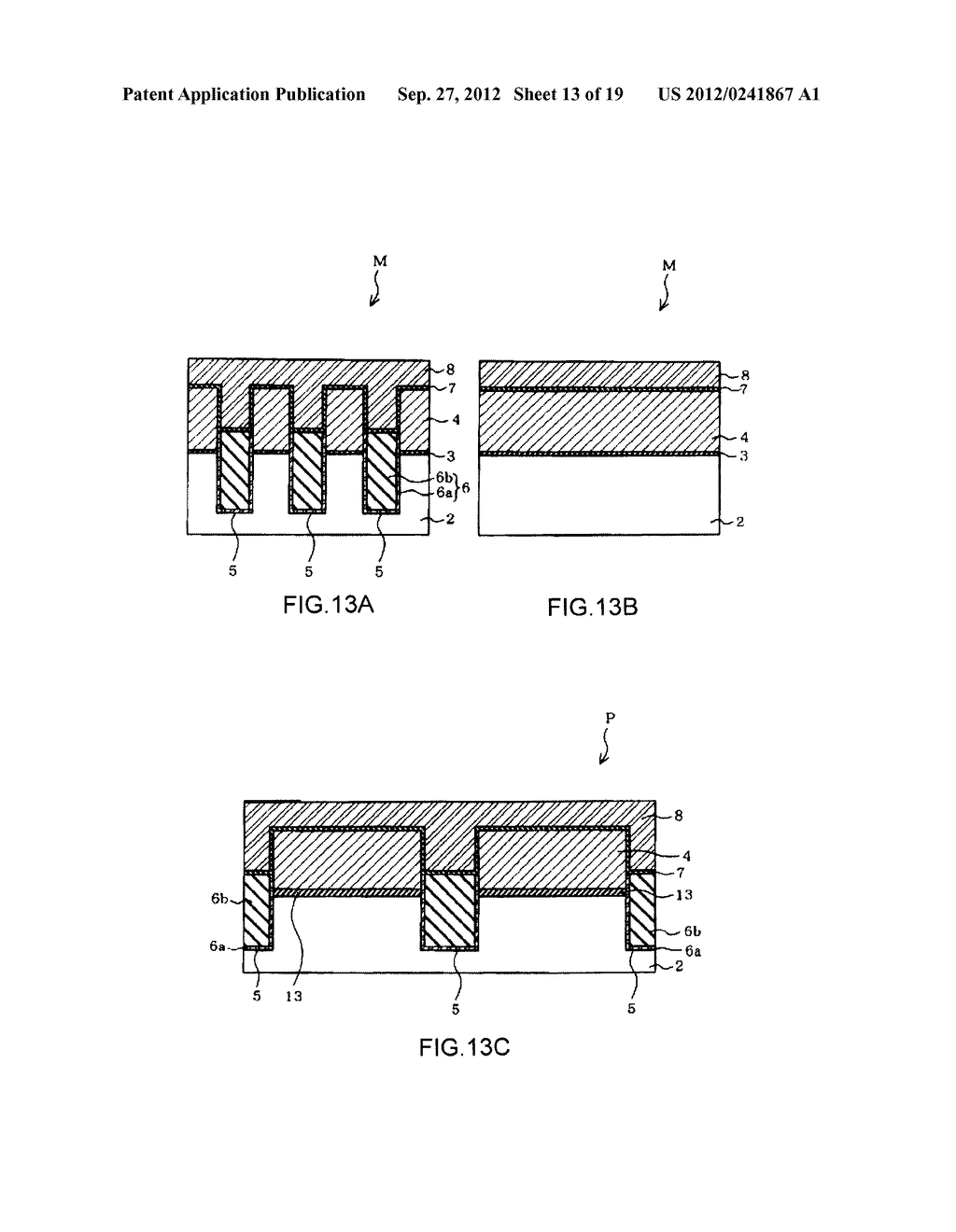 NON-VOLATILE SEMICONDUCTOR MEMORY DEVICE AND A MANUFACTURING METHOD     THEREOF - diagram, schematic, and image 14