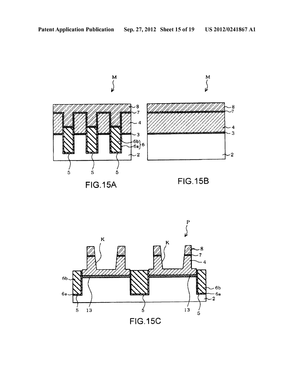 NON-VOLATILE SEMICONDUCTOR MEMORY DEVICE AND A MANUFACTURING METHOD     THEREOF - diagram, schematic, and image 16