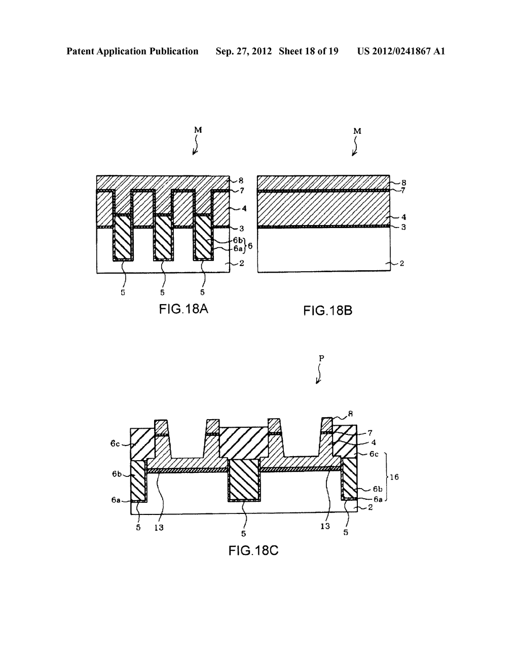 NON-VOLATILE SEMICONDUCTOR MEMORY DEVICE AND A MANUFACTURING METHOD     THEREOF - diagram, schematic, and image 19