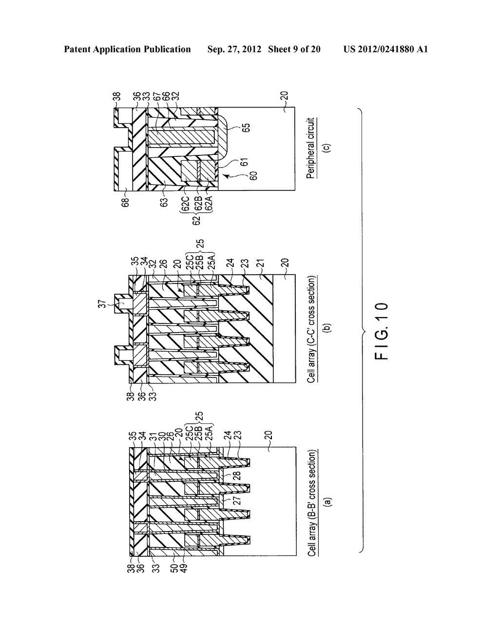 MAGNETIC MEMORY AND MANUFACTURING METHOD THEREOF - diagram, schematic, and image 10