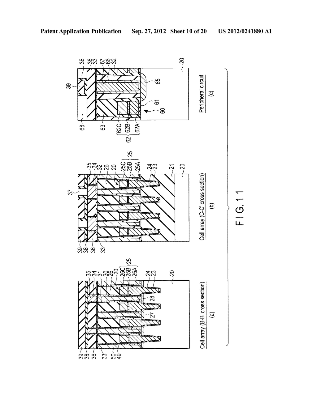 MAGNETIC MEMORY AND MANUFACTURING METHOD THEREOF - diagram, schematic, and image 11