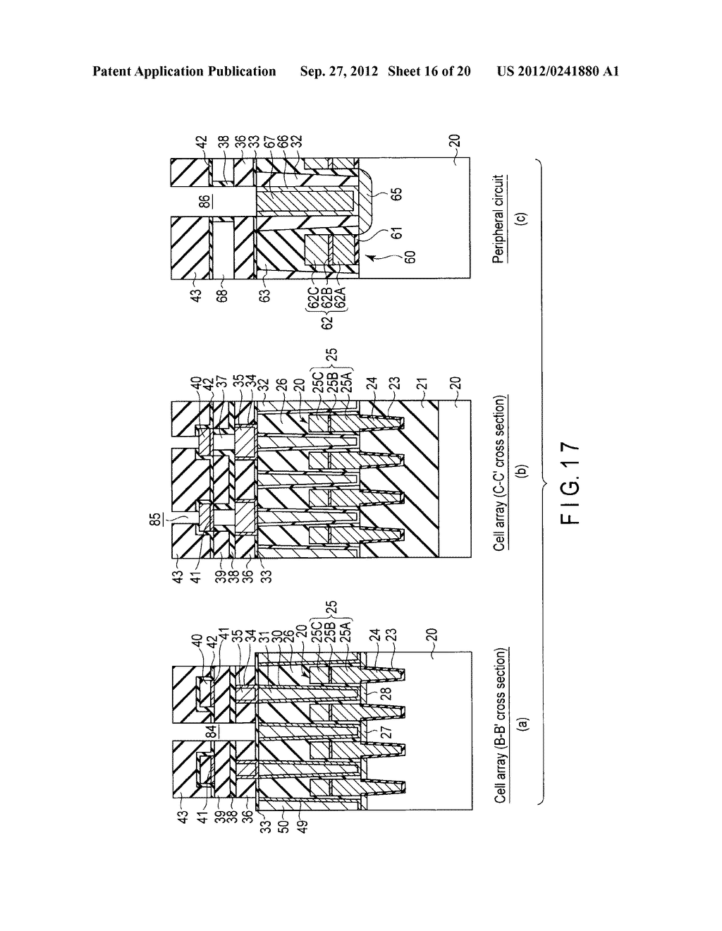 MAGNETIC MEMORY AND MANUFACTURING METHOD THEREOF - diagram, schematic, and image 17