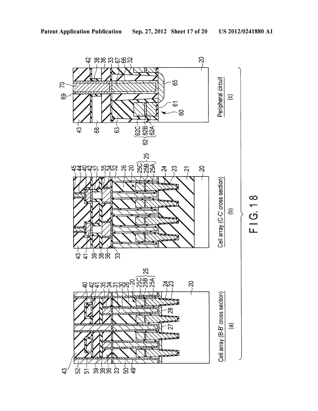 MAGNETIC MEMORY AND MANUFACTURING METHOD THEREOF - diagram, schematic, and image 18