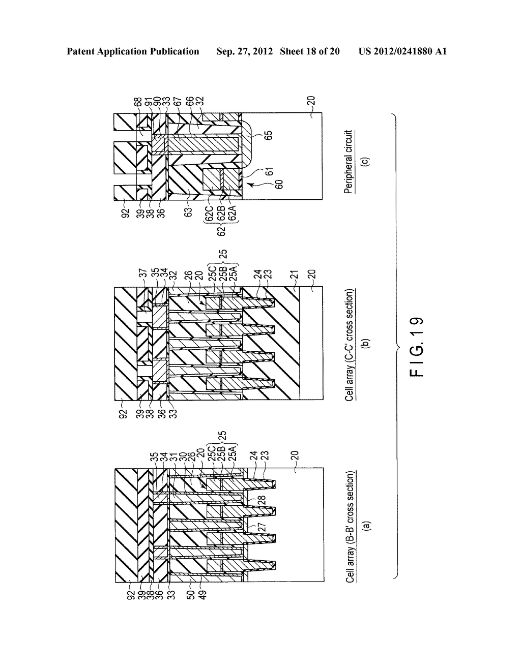 MAGNETIC MEMORY AND MANUFACTURING METHOD THEREOF - diagram, schematic, and image 19