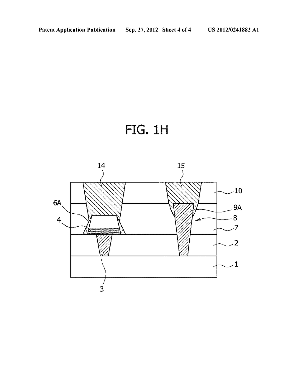 SEMICONDUCTOR MEMORY DEVICE AND METHOD FOR FABRICATING THE SAME - diagram, schematic, and image 05