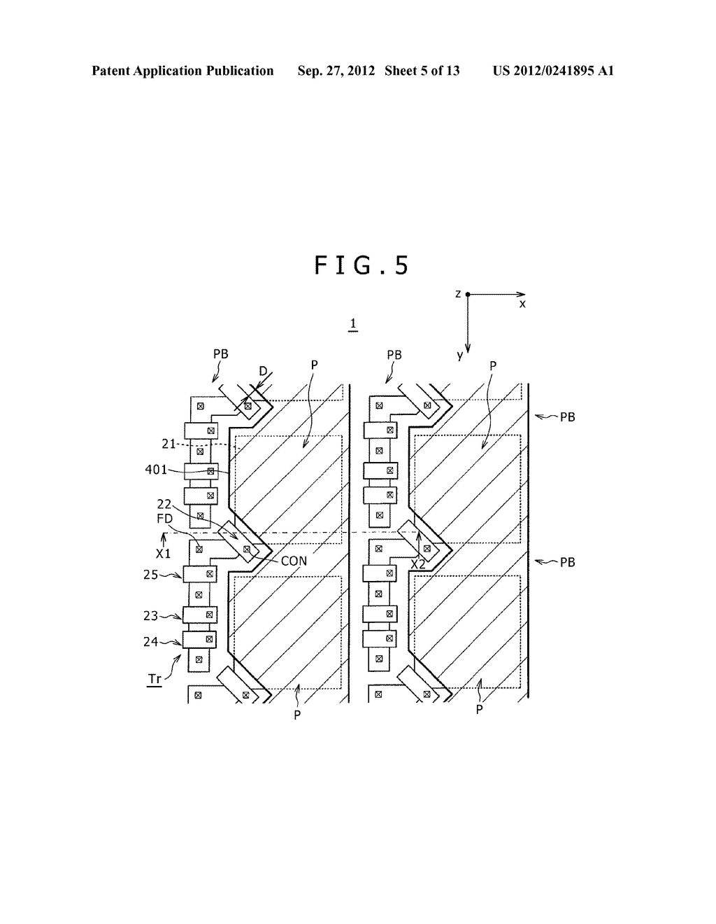 SOLID-STATE IMAGING DEVICE, MANUFACTURING METHOD OF THE SAME AND     ELECTRONIC APPARATUS - diagram, schematic, and image 06