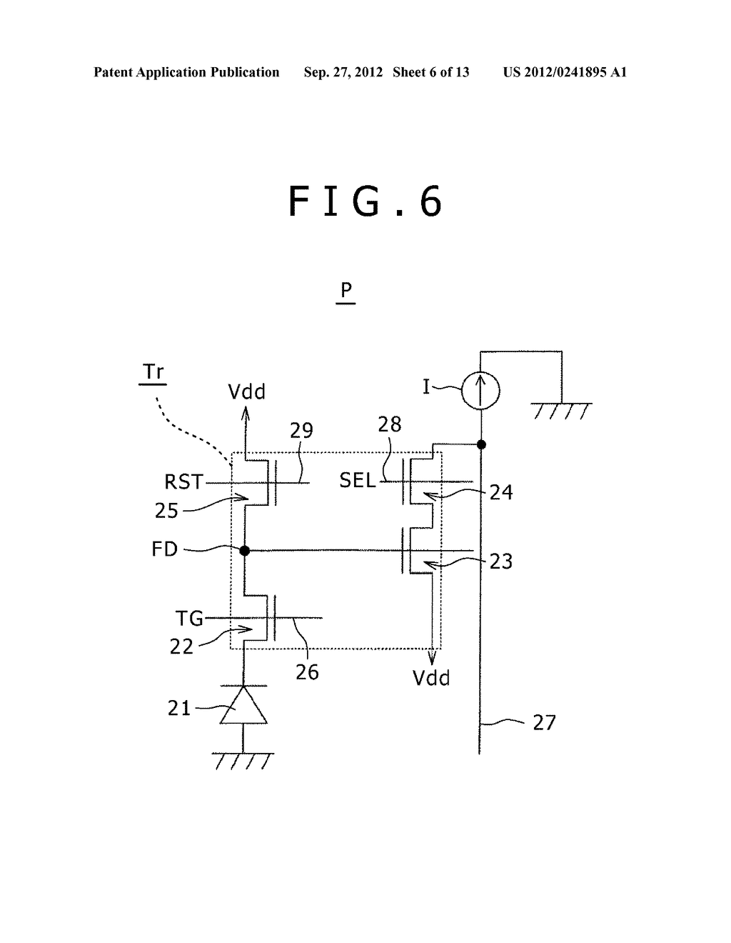 SOLID-STATE IMAGING DEVICE, MANUFACTURING METHOD OF THE SAME AND     ELECTRONIC APPARATUS - diagram, schematic, and image 07