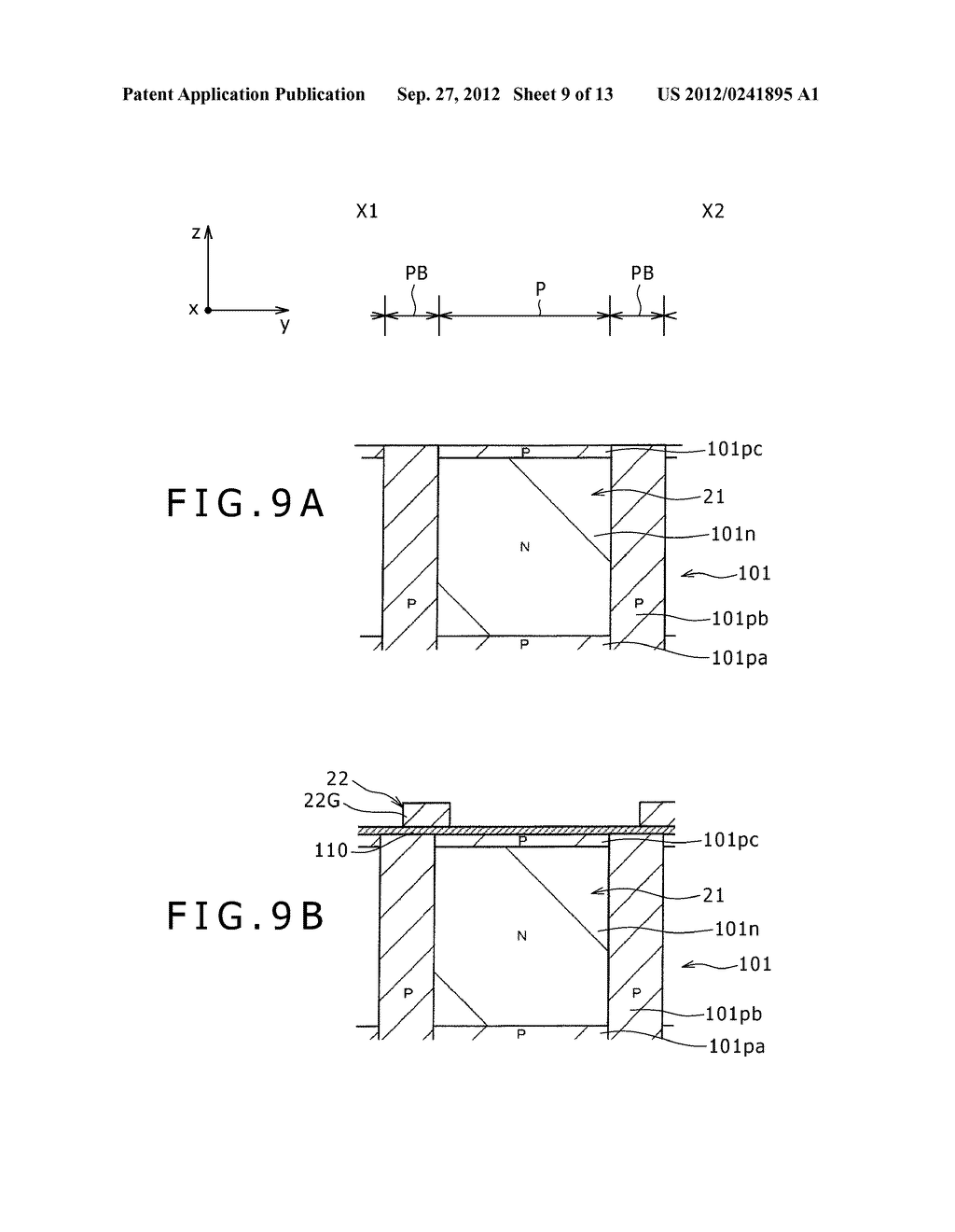 SOLID-STATE IMAGING DEVICE, MANUFACTURING METHOD OF THE SAME AND     ELECTRONIC APPARATUS - diagram, schematic, and image 10