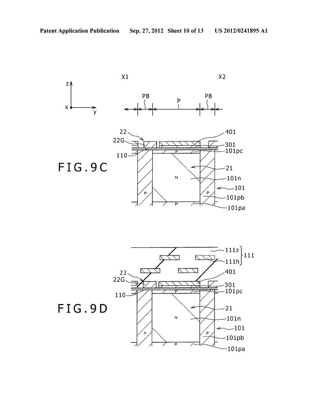 SOLID-STATE IMAGING DEVICE, MANUFACTURING METHOD OF THE SAME AND     ELECTRONIC APPARATUS - diagram, schematic, and image 11