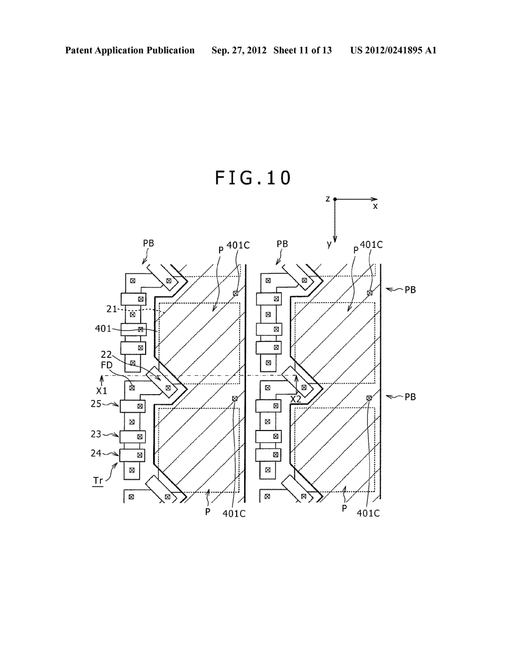 SOLID-STATE IMAGING DEVICE, MANUFACTURING METHOD OF THE SAME AND     ELECTRONIC APPARATUS - diagram, schematic, and image 12