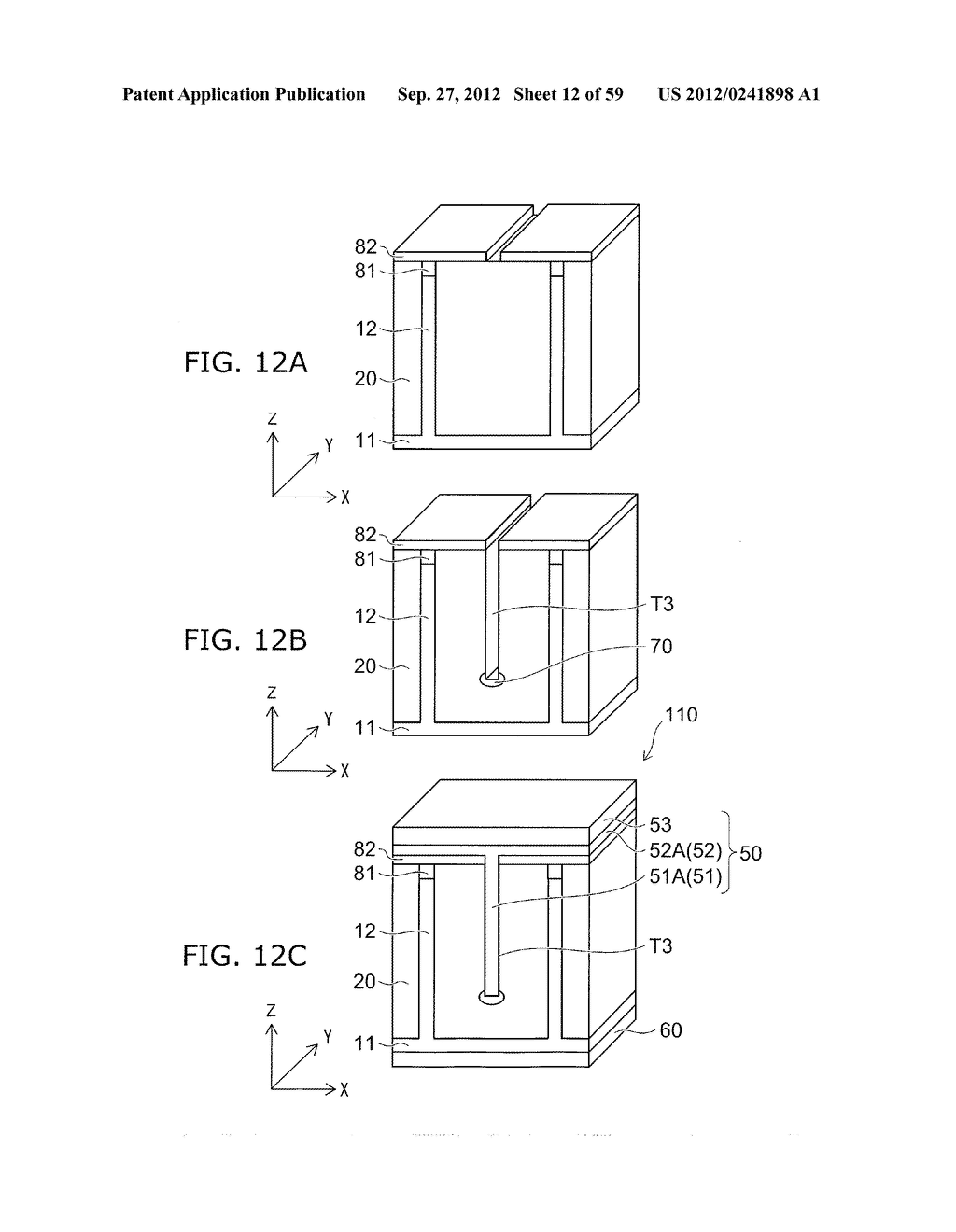 SEMICONDUCTOR DEVICE AND METHOD FOR MANUFACTURING THE SAME - diagram, schematic, and image 13