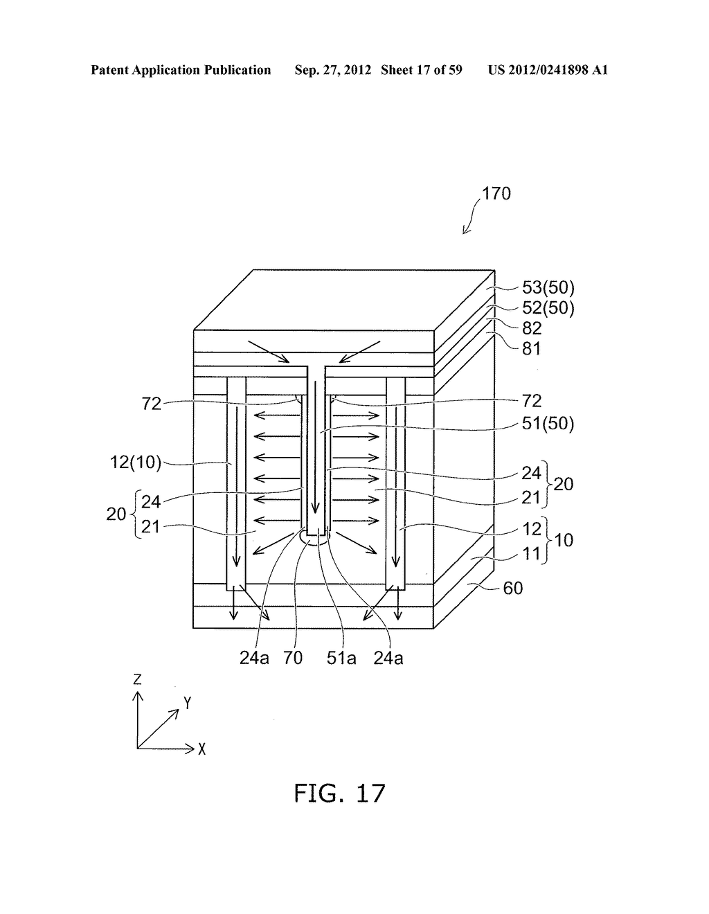 SEMICONDUCTOR DEVICE AND METHOD FOR MANUFACTURING THE SAME - diagram, schematic, and image 18