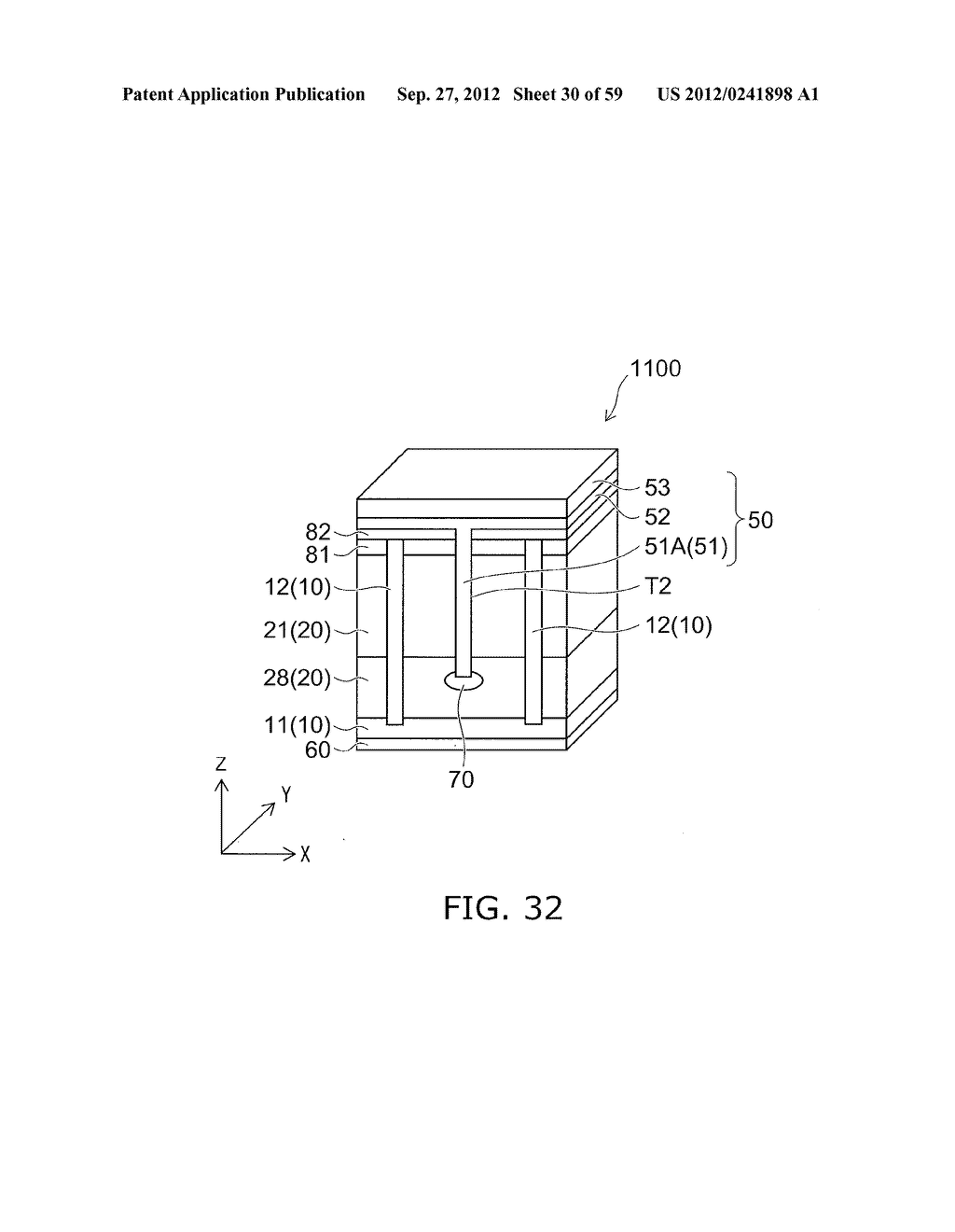 SEMICONDUCTOR DEVICE AND METHOD FOR MANUFACTURING THE SAME - diagram, schematic, and image 31