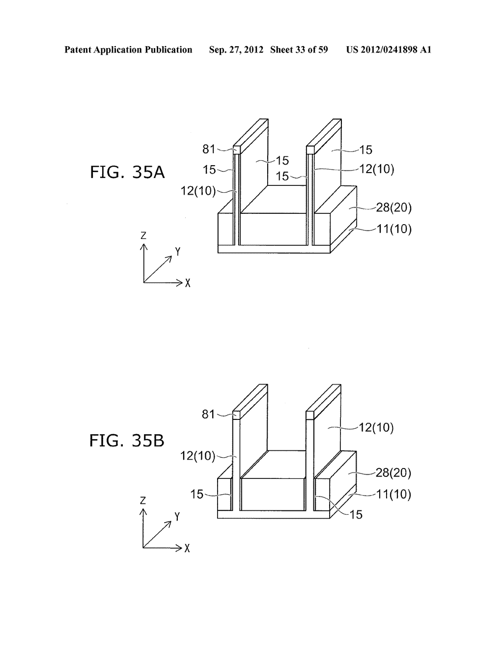 SEMICONDUCTOR DEVICE AND METHOD FOR MANUFACTURING THE SAME - diagram, schematic, and image 34