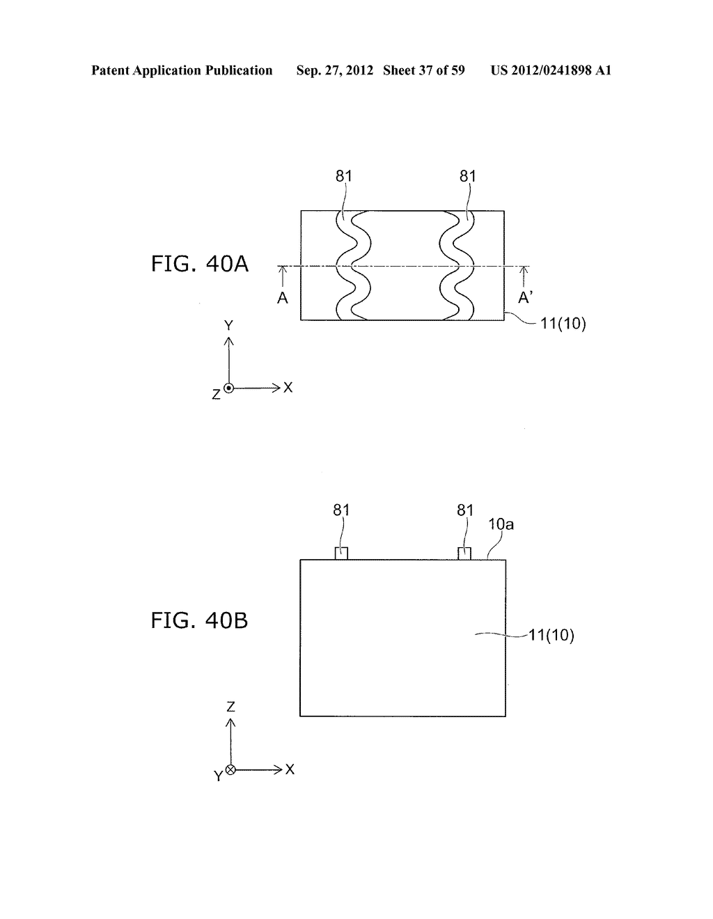 SEMICONDUCTOR DEVICE AND METHOD FOR MANUFACTURING THE SAME - diagram, schematic, and image 38