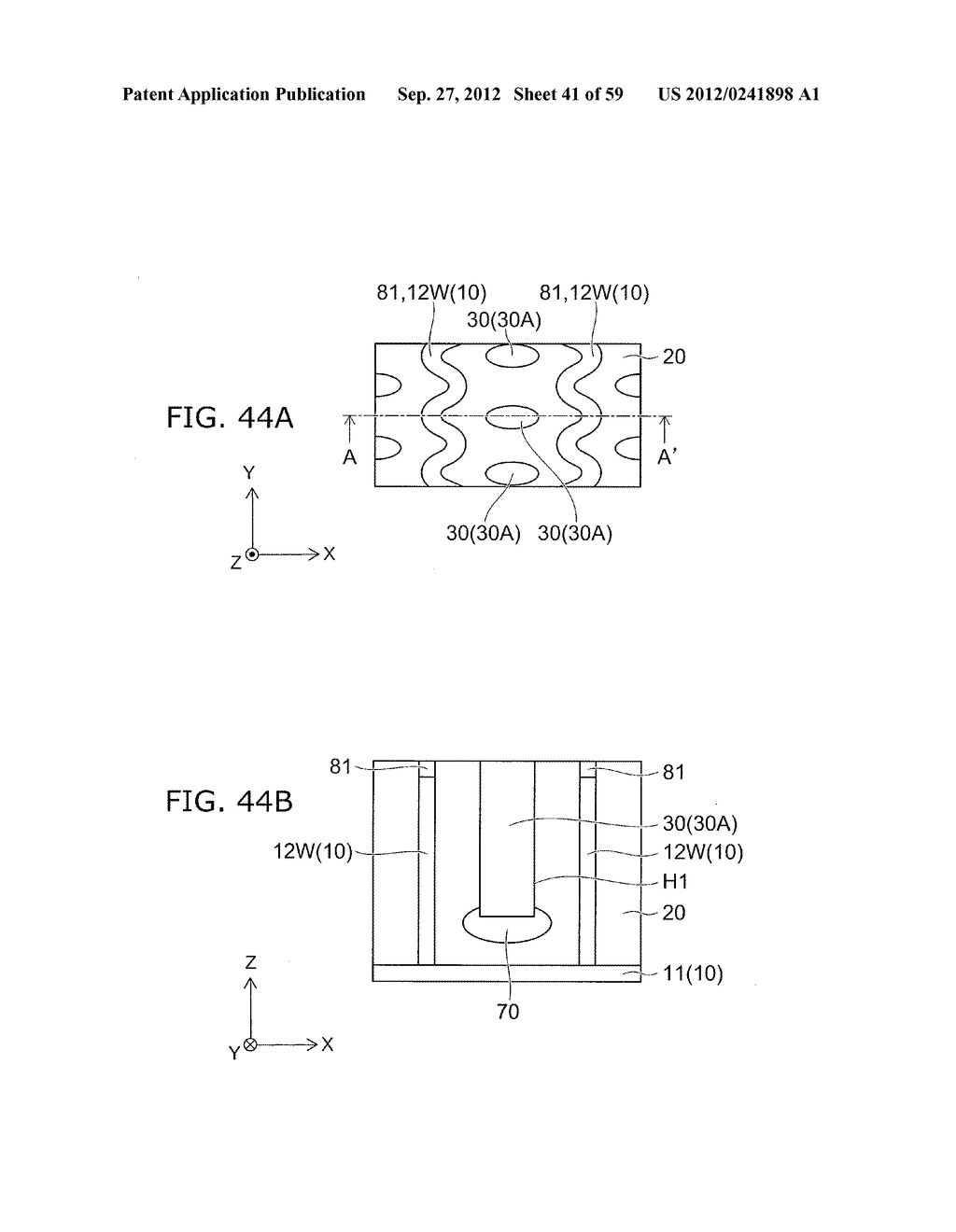 SEMICONDUCTOR DEVICE AND METHOD FOR MANUFACTURING THE SAME - diagram, schematic, and image 42