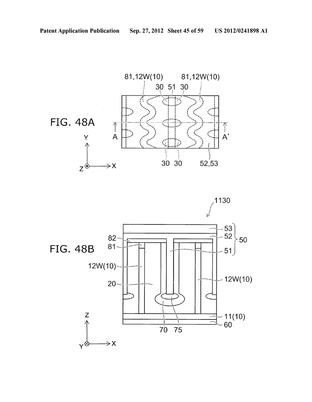 SEMICONDUCTOR DEVICE AND METHOD FOR MANUFACTURING THE SAME - diagram, schematic, and image 46