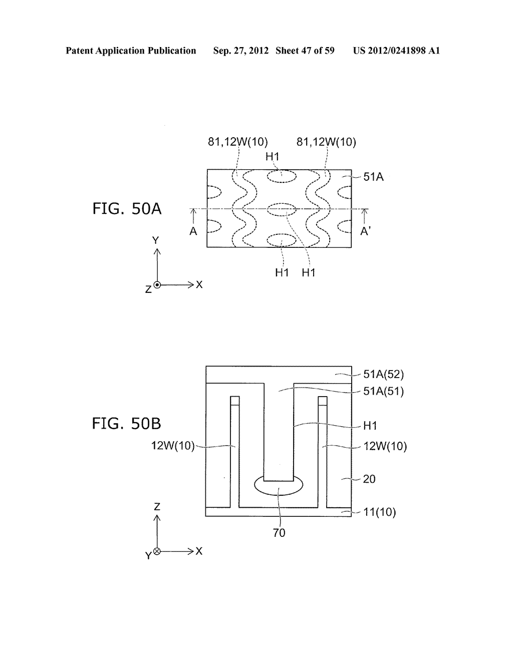 SEMICONDUCTOR DEVICE AND METHOD FOR MANUFACTURING THE SAME - diagram, schematic, and image 48