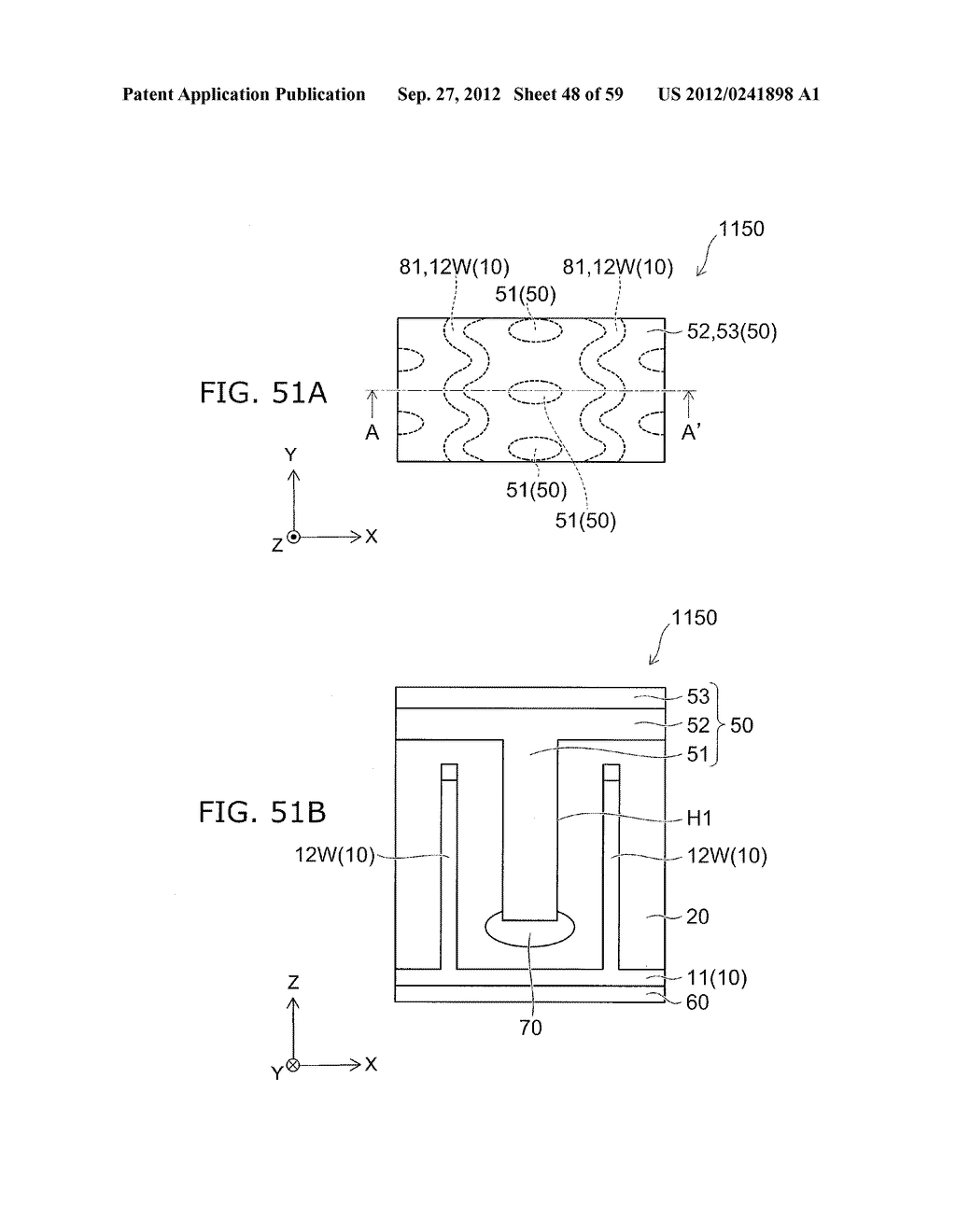 SEMICONDUCTOR DEVICE AND METHOD FOR MANUFACTURING THE SAME - diagram, schematic, and image 49