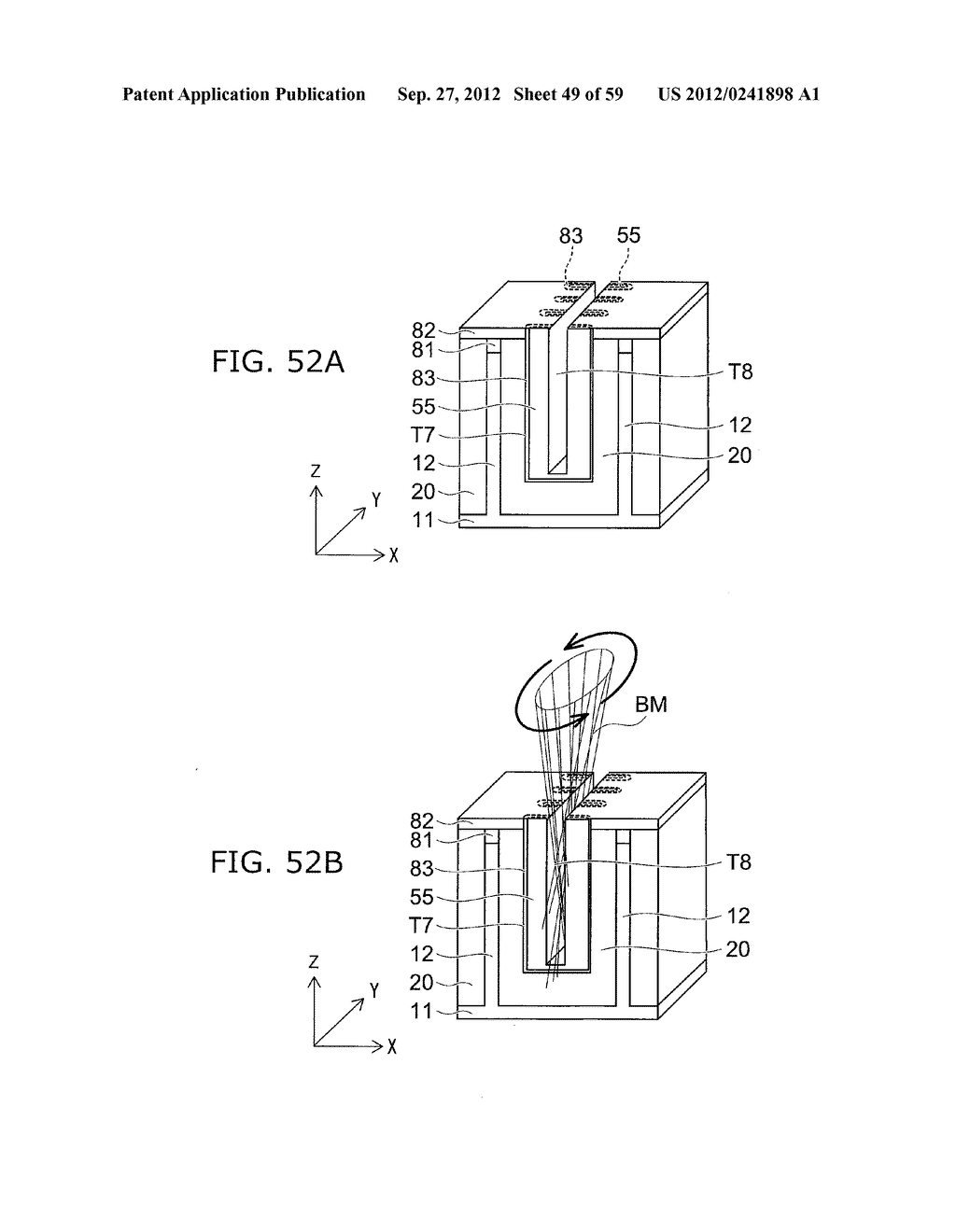 SEMICONDUCTOR DEVICE AND METHOD FOR MANUFACTURING THE SAME - diagram, schematic, and image 50