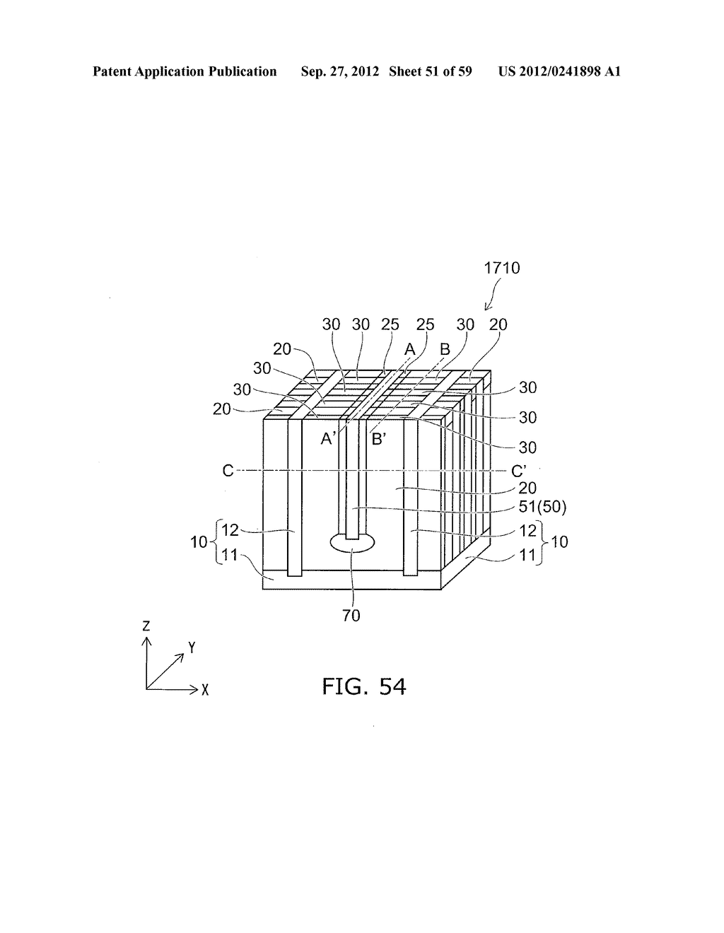 SEMICONDUCTOR DEVICE AND METHOD FOR MANUFACTURING THE SAME - diagram, schematic, and image 52