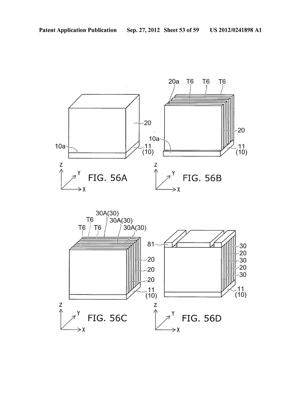 SEMICONDUCTOR DEVICE AND METHOD FOR MANUFACTURING THE SAME - diagram, schematic, and image 54