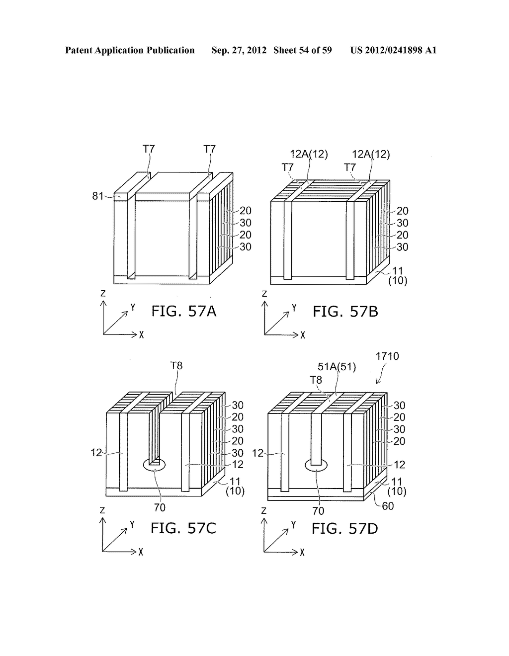 SEMICONDUCTOR DEVICE AND METHOD FOR MANUFACTURING THE SAME - diagram, schematic, and image 55