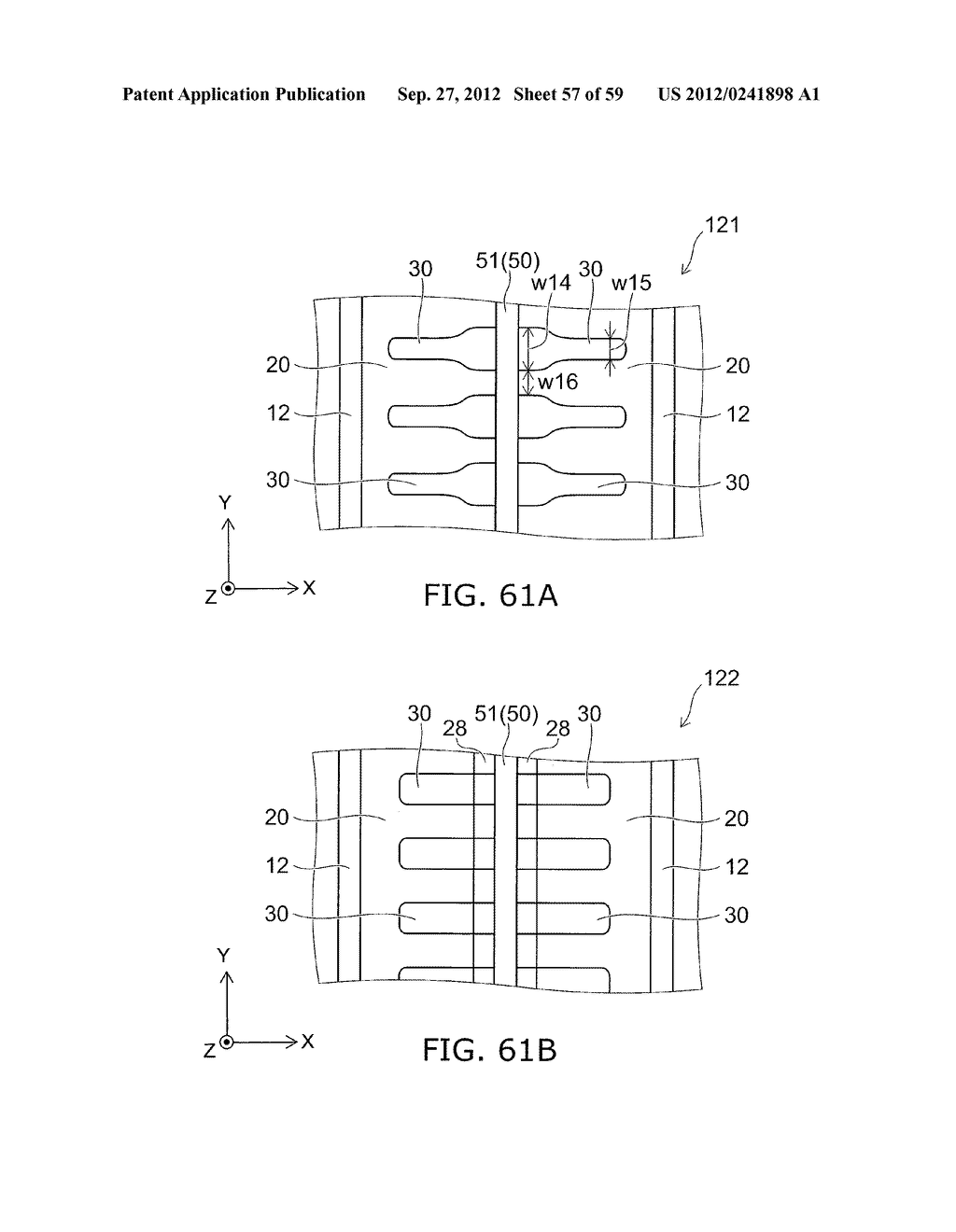 SEMICONDUCTOR DEVICE AND METHOD FOR MANUFACTURING THE SAME - diagram, schematic, and image 58