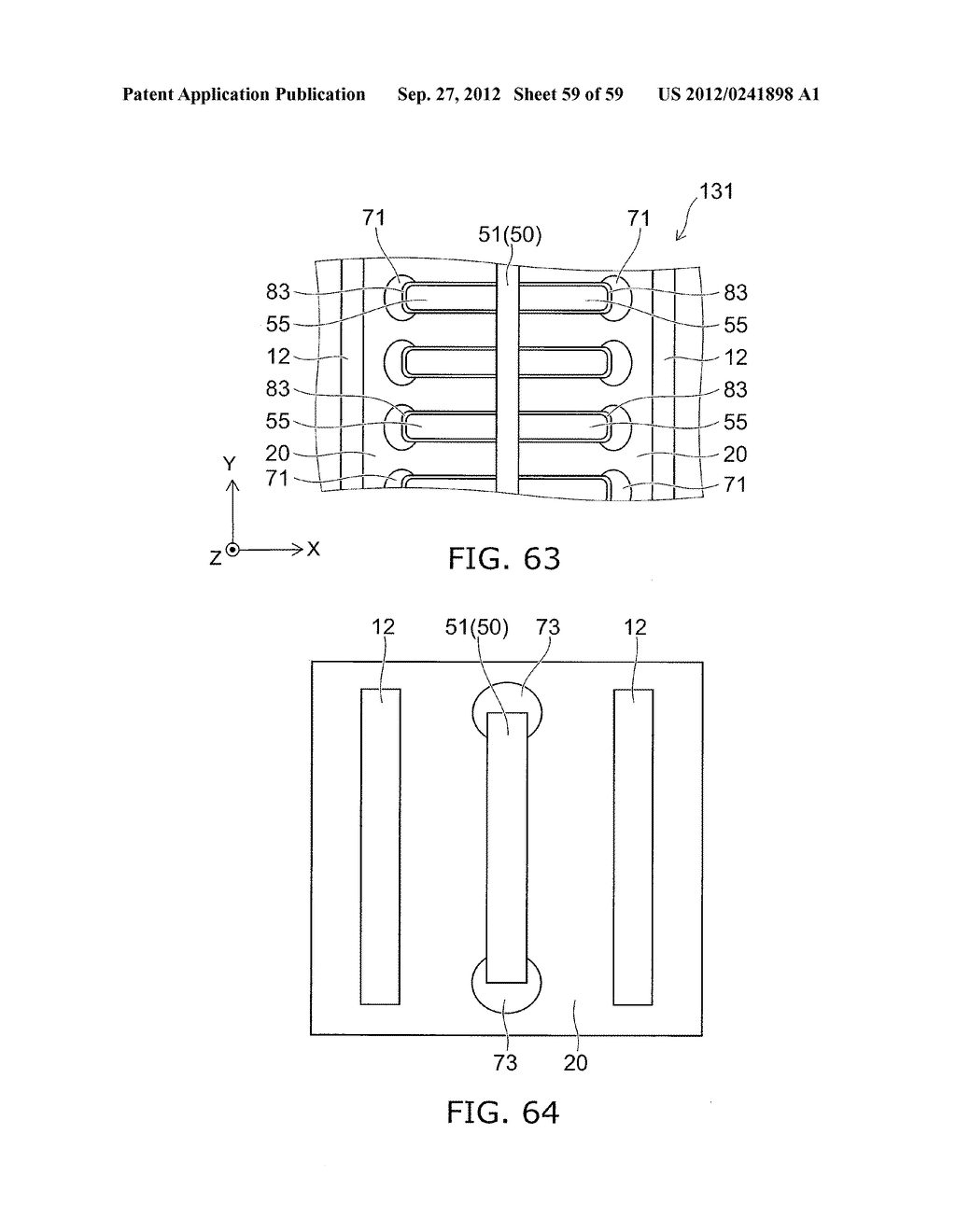 SEMICONDUCTOR DEVICE AND METHOD FOR MANUFACTURING THE SAME - diagram, schematic, and image 60