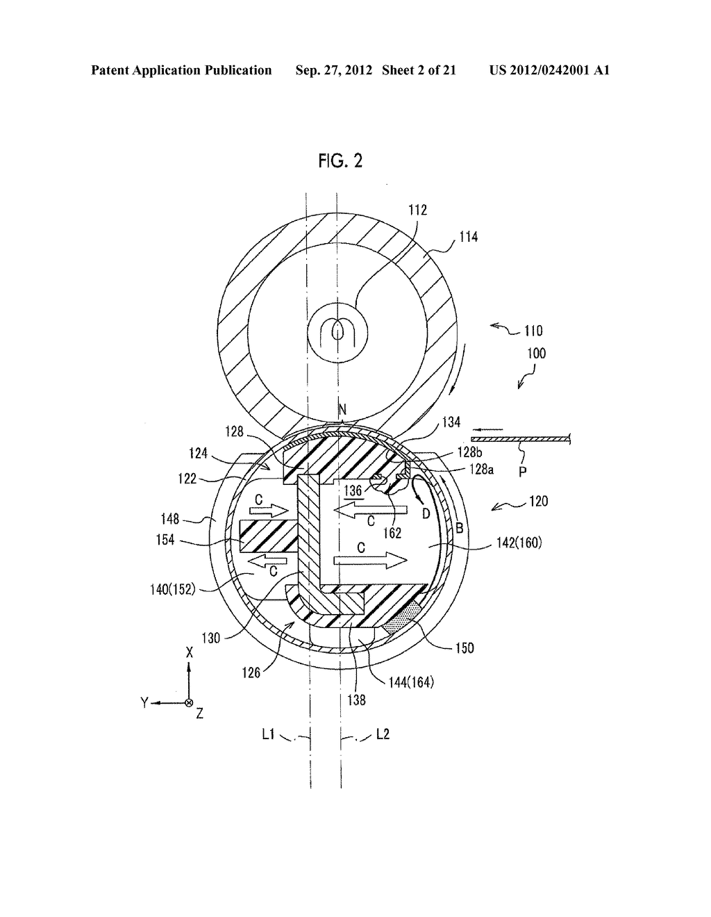 MOLDING APPARATUS AND METHOD FOR MANUFACTURING INSERT MOLDED ARTICLE - diagram, schematic, and image 03