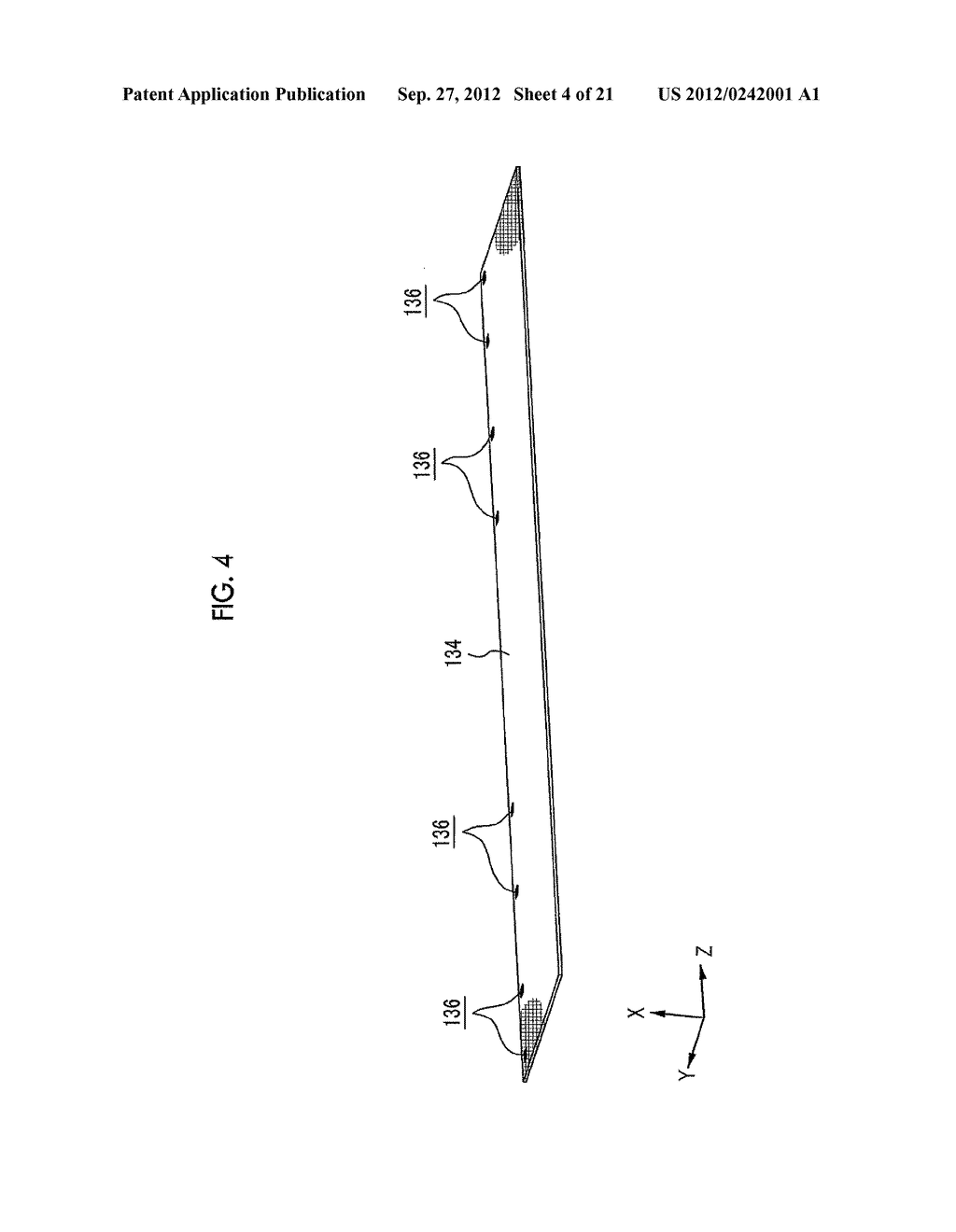 MOLDING APPARATUS AND METHOD FOR MANUFACTURING INSERT MOLDED ARTICLE - diagram, schematic, and image 05