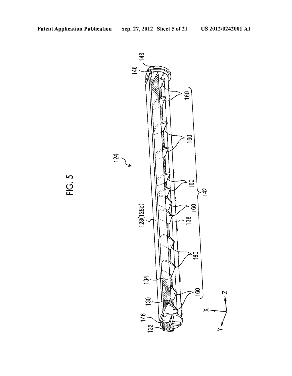 MOLDING APPARATUS AND METHOD FOR MANUFACTURING INSERT MOLDED ARTICLE - diagram, schematic, and image 06
