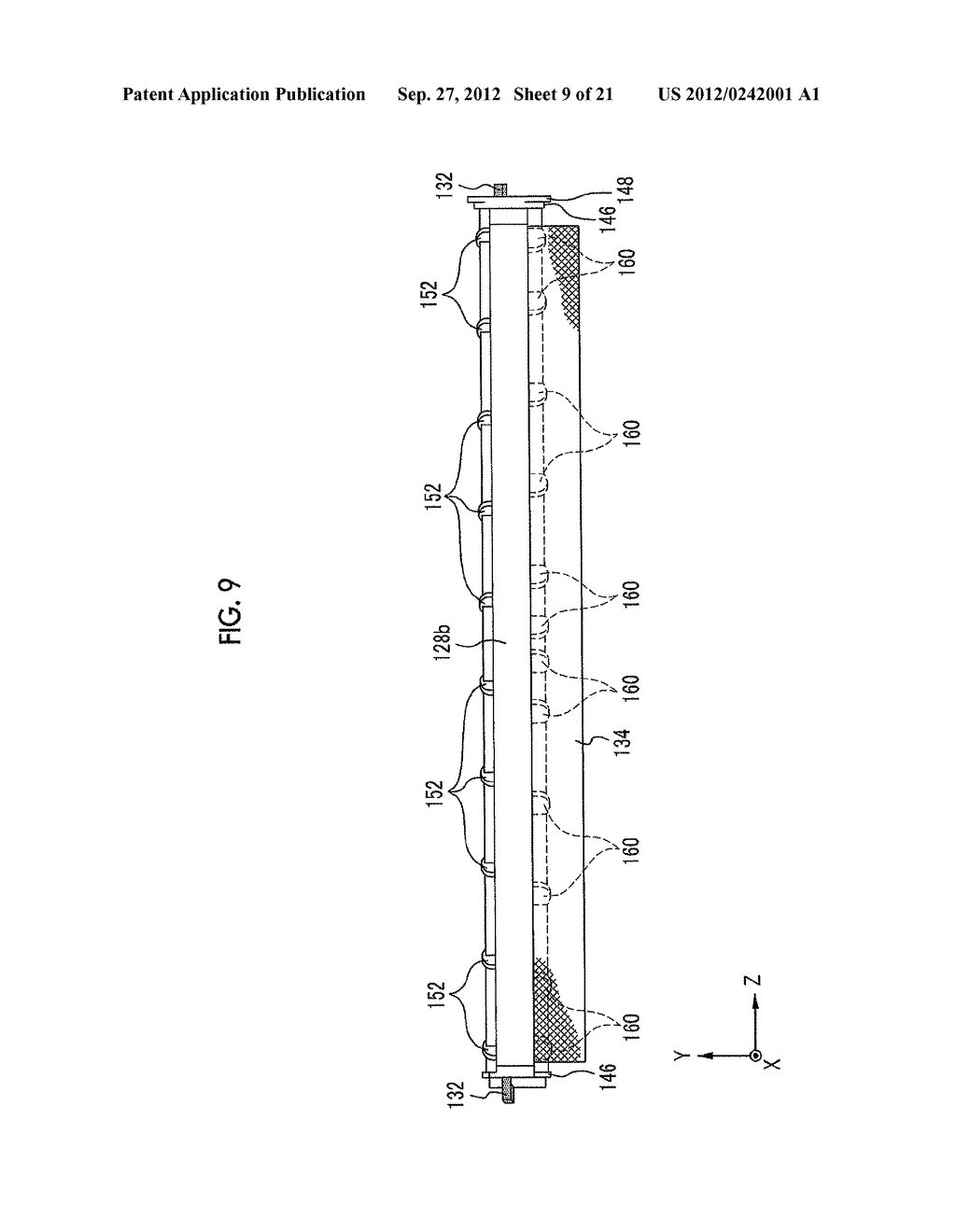 MOLDING APPARATUS AND METHOD FOR MANUFACTURING INSERT MOLDED ARTICLE - diagram, schematic, and image 10