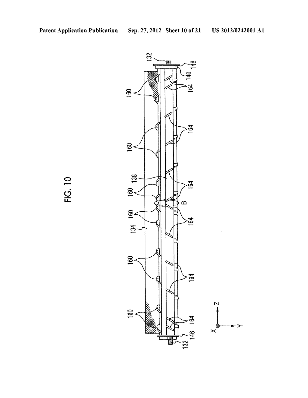 MOLDING APPARATUS AND METHOD FOR MANUFACTURING INSERT MOLDED ARTICLE - diagram, schematic, and image 11