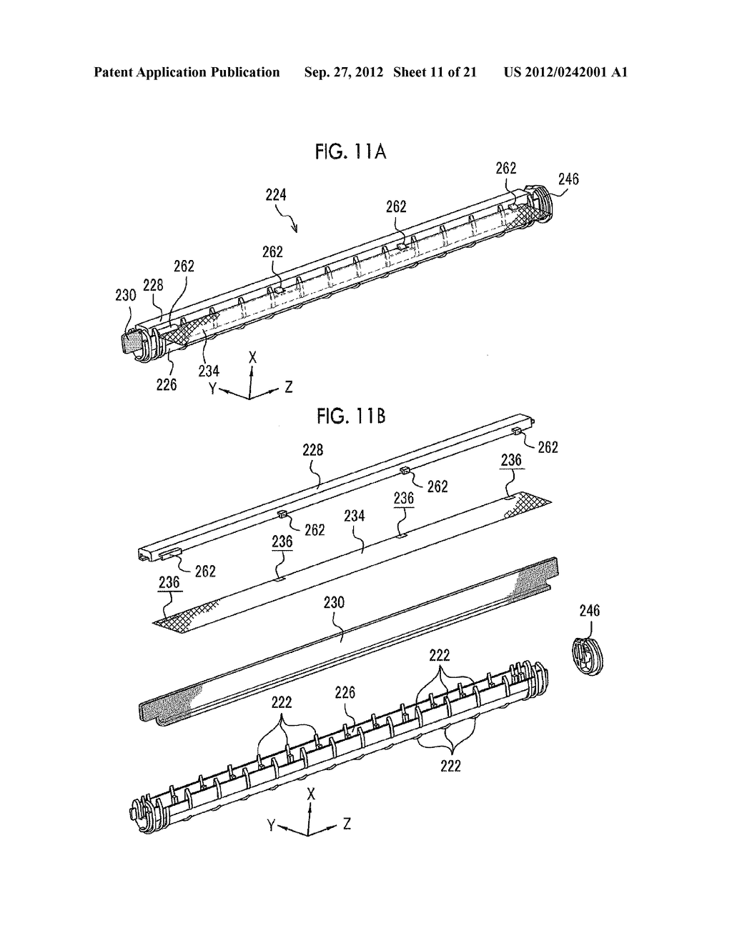 MOLDING APPARATUS AND METHOD FOR MANUFACTURING INSERT MOLDED ARTICLE - diagram, schematic, and image 12
