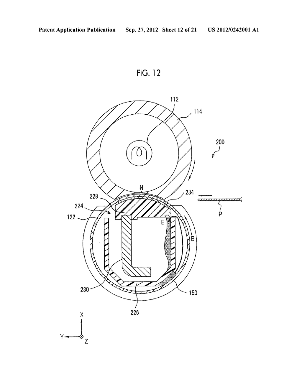 MOLDING APPARATUS AND METHOD FOR MANUFACTURING INSERT MOLDED ARTICLE - diagram, schematic, and image 13