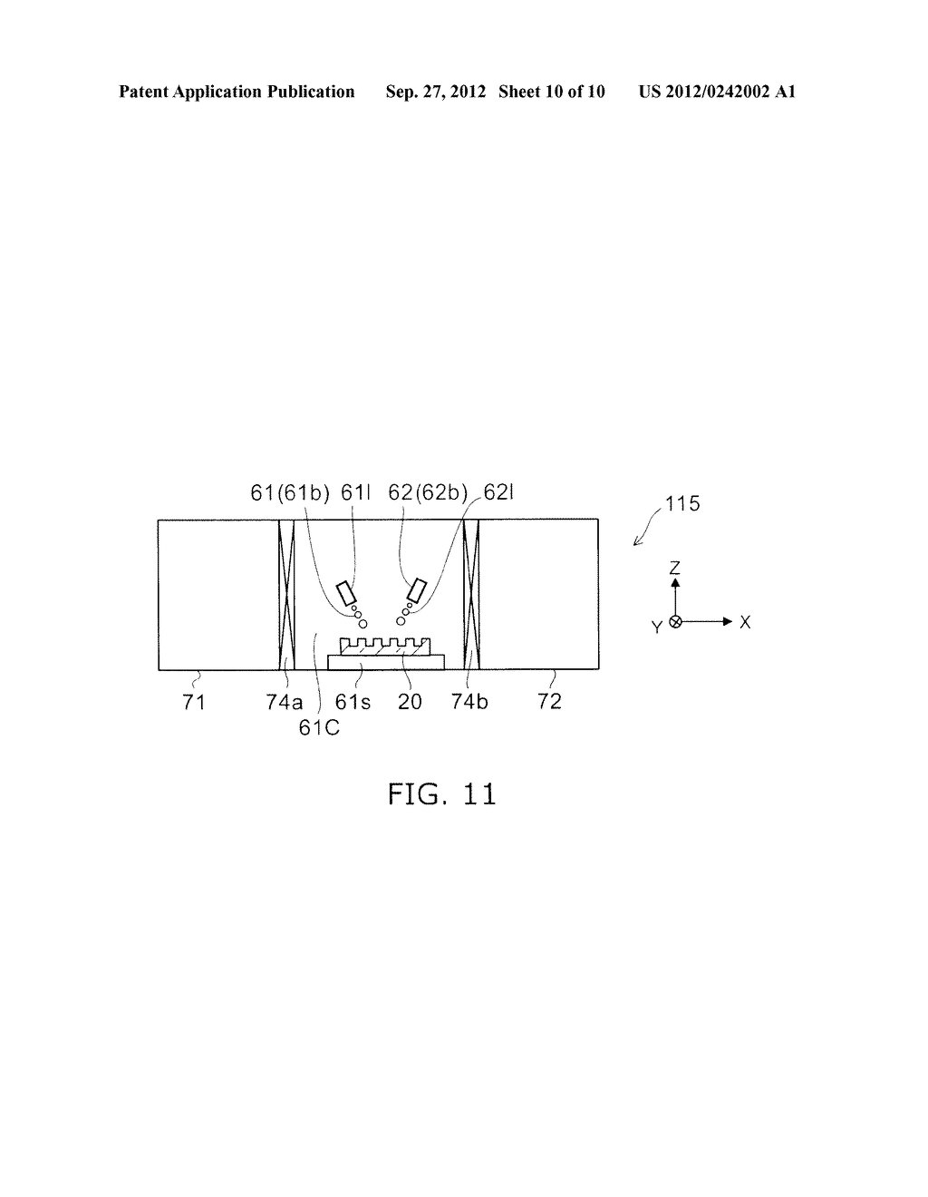 TEMPLATE, SURFACE PROCESSING METHOD OF TEMPLATE, SURFACE PROCESSING     APPARATUS OF TEMPLATE, AND PATTERN FORMATION METHOD - diagram, schematic, and image 11
